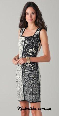 Теплые платья с коротким рукавом