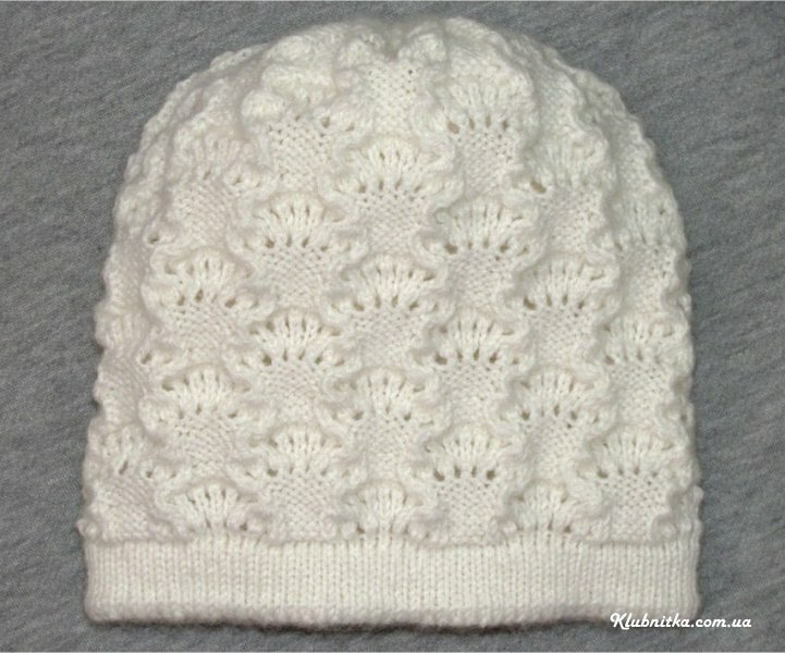 镂空图案的双层帽(1~3岁) - maomao - 我随心动